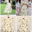 Dress แขนระบายอกV thumbnail 4