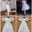 Dress แขนระบายคอV thumbnail 5
