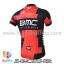 เสื้อจักรยานแขนสั้นทีม BMC 2015 สีดำแดง สั่งจอง (Pre-order) thumbnail 2
