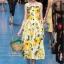 Dress Brand DG สายเดี่ยว สีสวยสดใส thumbnail 1