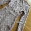 เดรสผ้าลูกไม้ทอลายดอกไม้สีเบจ thumbnail 8