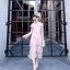 Dress แขนยาวคอบีน เนื้อผ้าลูกไม้ thumbnail 4