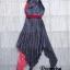 Dress แขนกุดอกV thumbnail 7