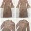 Dress แขนยาวคอบีน เนื้อผ้าลูกไม้ thumbnail 7