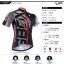เสื้อจักรยานแขนสั้น Cyclingbox 2015 สีเทาดำลายกรงเล็บ สั่งจอง (Pre-order) thumbnail 3