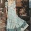 Maxi Dress ทรงสวยคอวีหน้า thumbnail 7