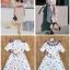 Dress แขนสั้น เนื้อผ้าพิมท์ลายสุดน่ารัก thumbnail 4