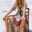 Maxi Dress ทรงสวยคอวีหน้า thumbnail 3