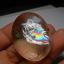 เม็ดโต แก้วประกายรุ้ง น้ำใส งาม ขนาด 4*3.3 ขนาดทำกำไล สะสม thumbnail 4