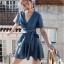 Mini dress แขนสั้น ลายจุด thumbnail 4
