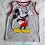 H&M : เสื้อกล้ามสกรีนลายมิกกี้เมาส์ สีเทา size 6-8y / 8-10y thumbnail 1