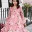 ชุดคลุมท้อง Flower dress thumbnail 4