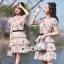 งานมินิเดรสลุคสาวหวานน่ารัก เนื้อผ้าตาข่าย thumbnail 5