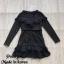 Dress แขนยาวคอV thumbnail 5