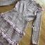 เดรสผ้าลูกไม้สีพาสเทลตกแต่งระบาย thumbnail 10