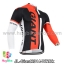 เสื้อจักรยานแขนยาวทีม Giant 14 สีขาวแดงดำ