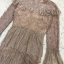 Dress แขนยาวคอบีน เนื้อผ้าลูกไม้ thumbnail 5