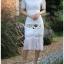 เดรสผ้าลูกไม้ตกแต่งปกสไตล์สาวเพรพพี้ thumbnail 4