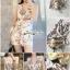 งานจั้ม Suit ขาสั้นดีเทลเนื้อผ้าพิมพ์ลายดอกไม้โทนสีพาสเทล thumbnail 5