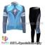 ชุดจักรยานแขนยาวทีม Specialized สีฟ้าเทา thumbnail 1