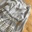 เดรสผ้าชีฟองสีเทาตกแต่งระบายลายทาง thumbnail 9
