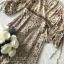 งานเดรสเนื้อผ้าช่วงบนเป็นผ้าชีฟองพิมพ์ลายดอกไม้-ลายจุด thumbnail 7