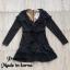 Dress แขนยาวคอV thumbnail 7