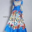 Maxi Dress ดีไซน์สวย เดรสคอปก thumbnail 5
