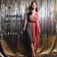 Dress แขนกุดอกV thumbnail 3