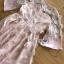 มินิเดรสผ้าชีฟองปักดอกไม้สีชมพูอ่อน thumbnail 8