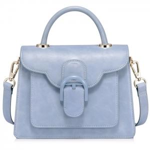 BG_3169 (pre-order) กระเป๋าพรีเมียมแบรนด์ NCEL โทนครามอ่อน, 2018, Bag, Blue