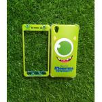 TPU นิ่มประกบหน้าหลัง MONSTERS Mike Oppo A37