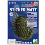Hi-Jet Sticker Matt 90G A4 (100 Sheets)