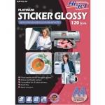 Hi-Jet STICKER Glossy 120 Gsm. (A4/10 Sheets)