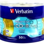 Verbatim CD-R 52X Gold AZO (50 pcs/Cake Box)