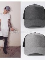 หมวกแก็ปฮิปฮอป Justin Bieber แต่งลายทูโทน มี2สี