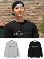 เสื้อแฟชั่นแขนยาวเกาหลี ซง จุง-กิ พิมพ์อักษร PHOTOCOPY มี5สี