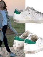 รองเท้าผ้าใบสีเขียว ซง จุง-กิ Descendants GGDB แนวเซอร์ๆ
