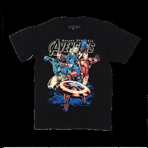 เสื้อยืด วง Avengers แขนสั้น แขนยาว สั่งได้ทุกขนาด S-XXL [NTS]