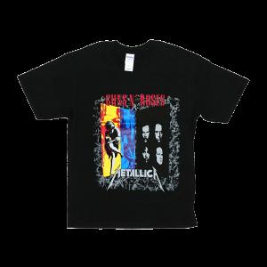 เสื้อยืดวง Guns N Roses ผ้า Gildan xS-3XL [GNRMET134MAY]