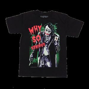 เสื้อยืด วง Joker แขนสั้น แขนยาว สั่งได้ทุกขนาด S-XXL [NTS]