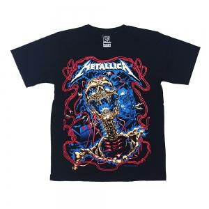เสื้อยืด วง Metallica แขนสั้น แขนยาว สั่งได้ทุกขนาด S-XXL [NTS]
