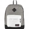 JanSport กระเป๋าเป้ รุ่น Super FX - Black White Letterman