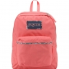 JanSport กระเป๋าเป้ รุ่น High Stakes - Coral Sparkle Pretty Posey