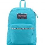 JanSport กระเป๋าเป้ รุ่น High Stakes - Mammoth Blue/Multi Stickers