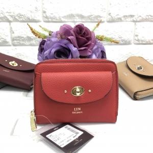 LYN SHORT WALLET BAG *สีแดง