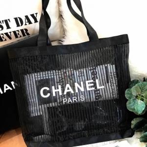 Chanel Cosmetic Shopping Bag กระเป๋าสะพายใบใหญ่ VIP Gift