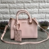 CHARLES & KEITH LARGE STRUCTURE CITY BAG *ชมพู