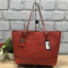GUESS SAFFIANO SHOPPER BAG *แดง