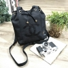 Chanel Beaute Black Sequin Dreawstring Shopping Bag VIP GIFT Limited Edition